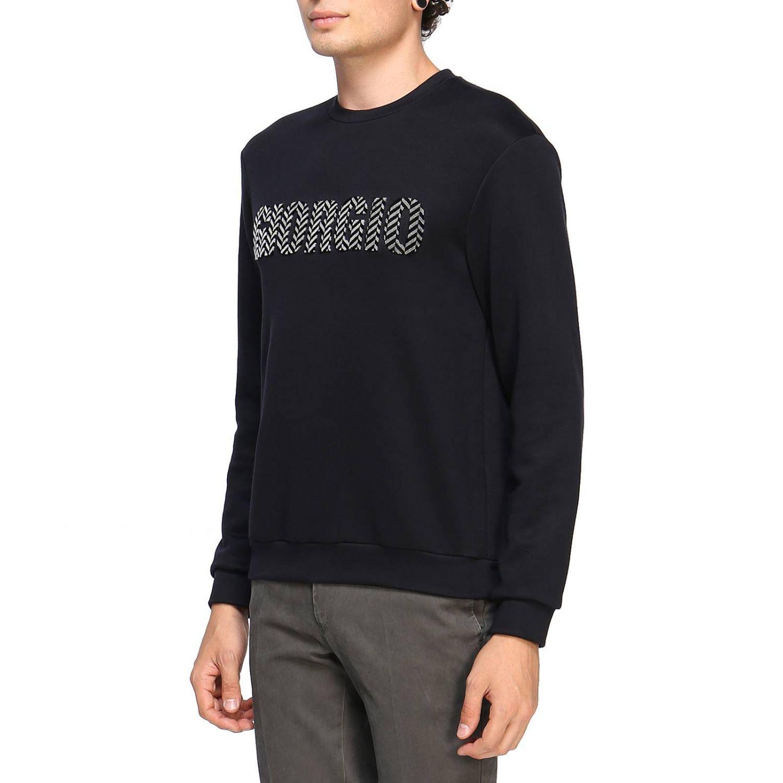 Sweatshirt Giorgio Armani: Pullover herren Giorgio Armani blau 2