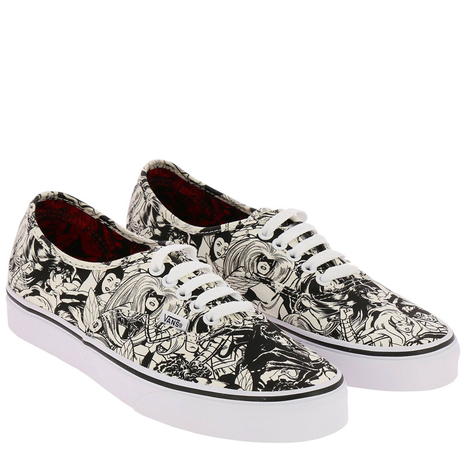 Baskets Authentic limited edition en toile avec impression by Marvel all over