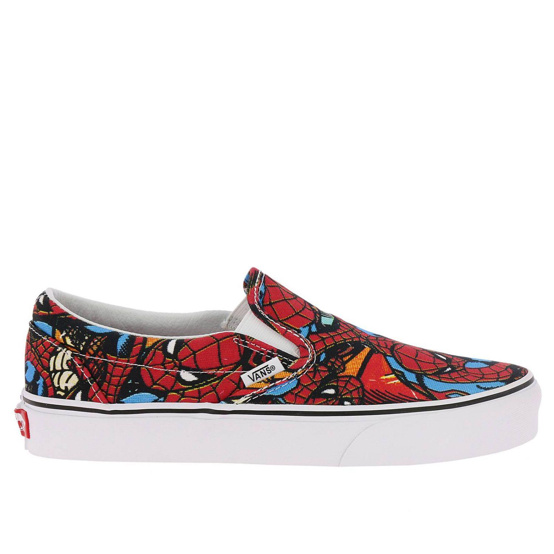 Vans Outlet Marvel Shoes Men Sneakers Vans Men Red Sneakers Vans Va38f7 Giglio En