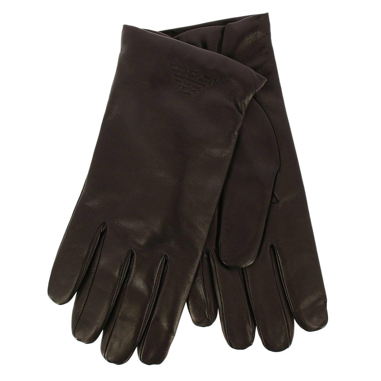 Gloves men Emporio Armani black 1