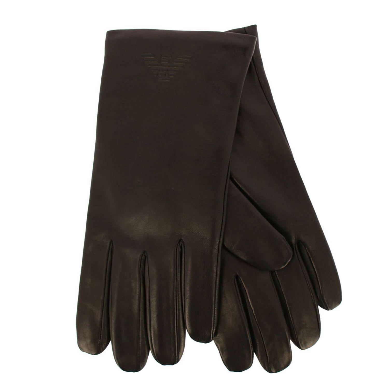 Gloves men Emporio Armani black 2