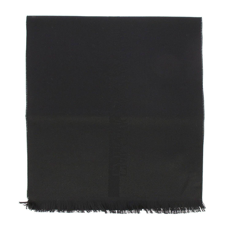 围巾 男士 Emporio Armani 黑色 1