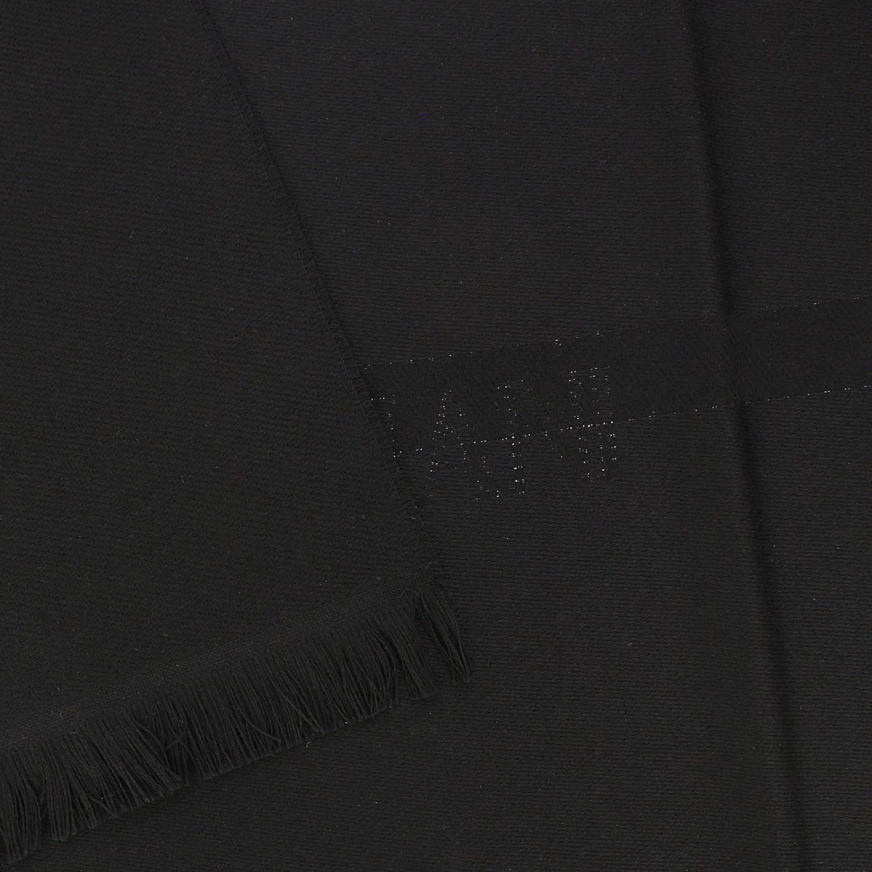 围巾 男士 Emporio Armani 黑色 3