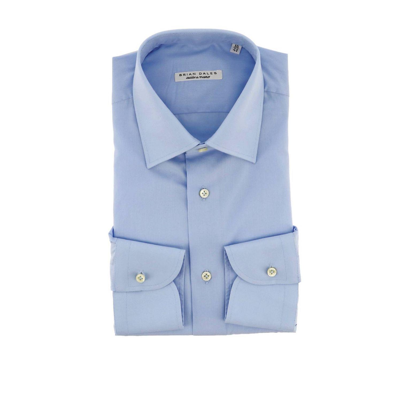 Рубашка Мужское Brian Dales Camicie небесно-голубой 1