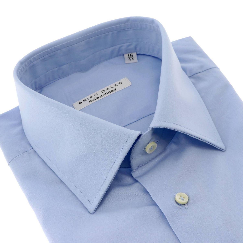 Рубашка Мужское Brian Dales Camicie небесно-голубой 2