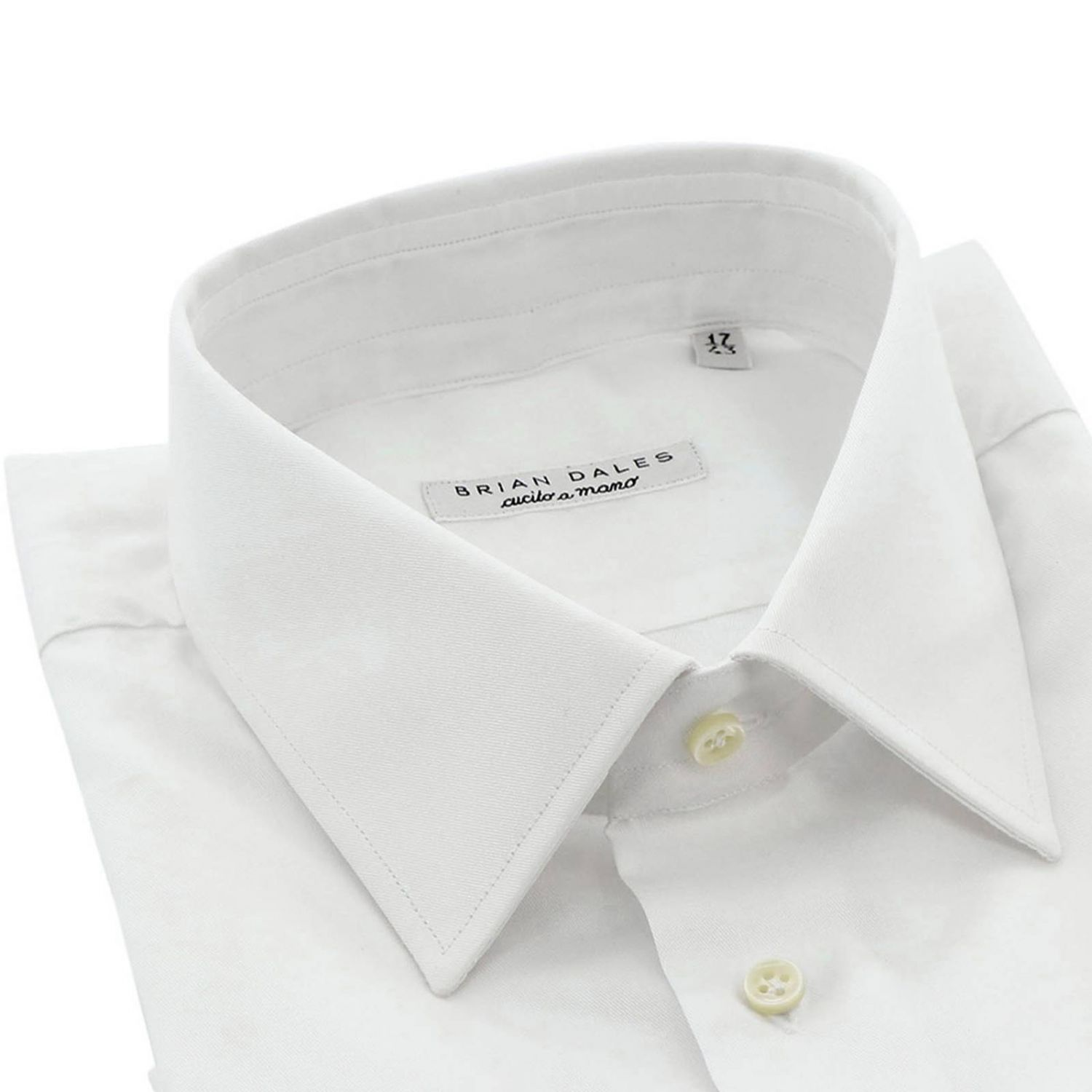 Shirt men Brian Dales Camicie white 2