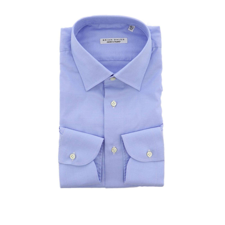 衬衫 男士 Brian Dales Camicie 浅蓝色 1