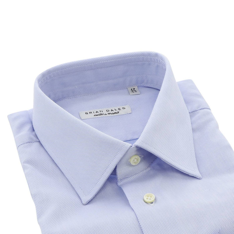 Рубашка Мужское Brian Dales Camicie голубой 2