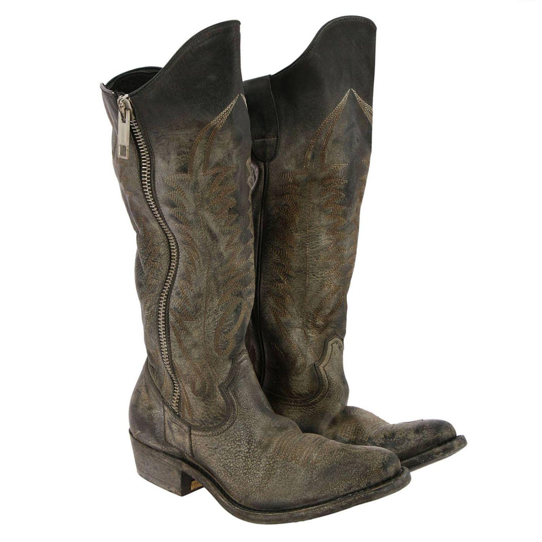 靴子 Golden Goose: 鞋 女士 Golden Goose 黑色 2