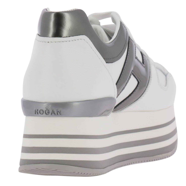 Обувь Женское Hogan белый 4