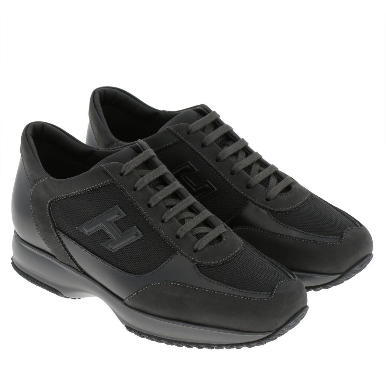 black hogan sneakers