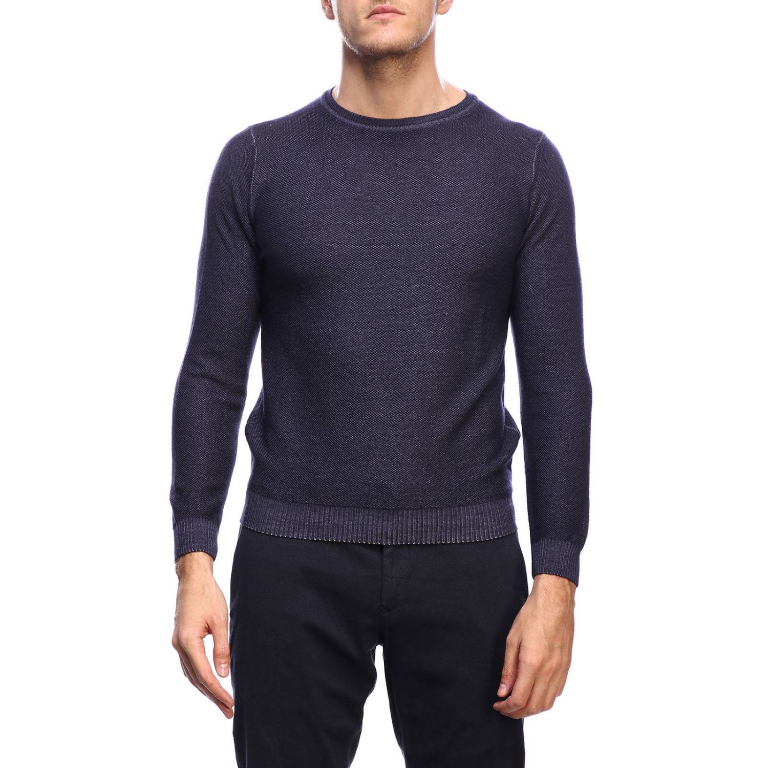Jumper men Osvaldo Bruni blue 1