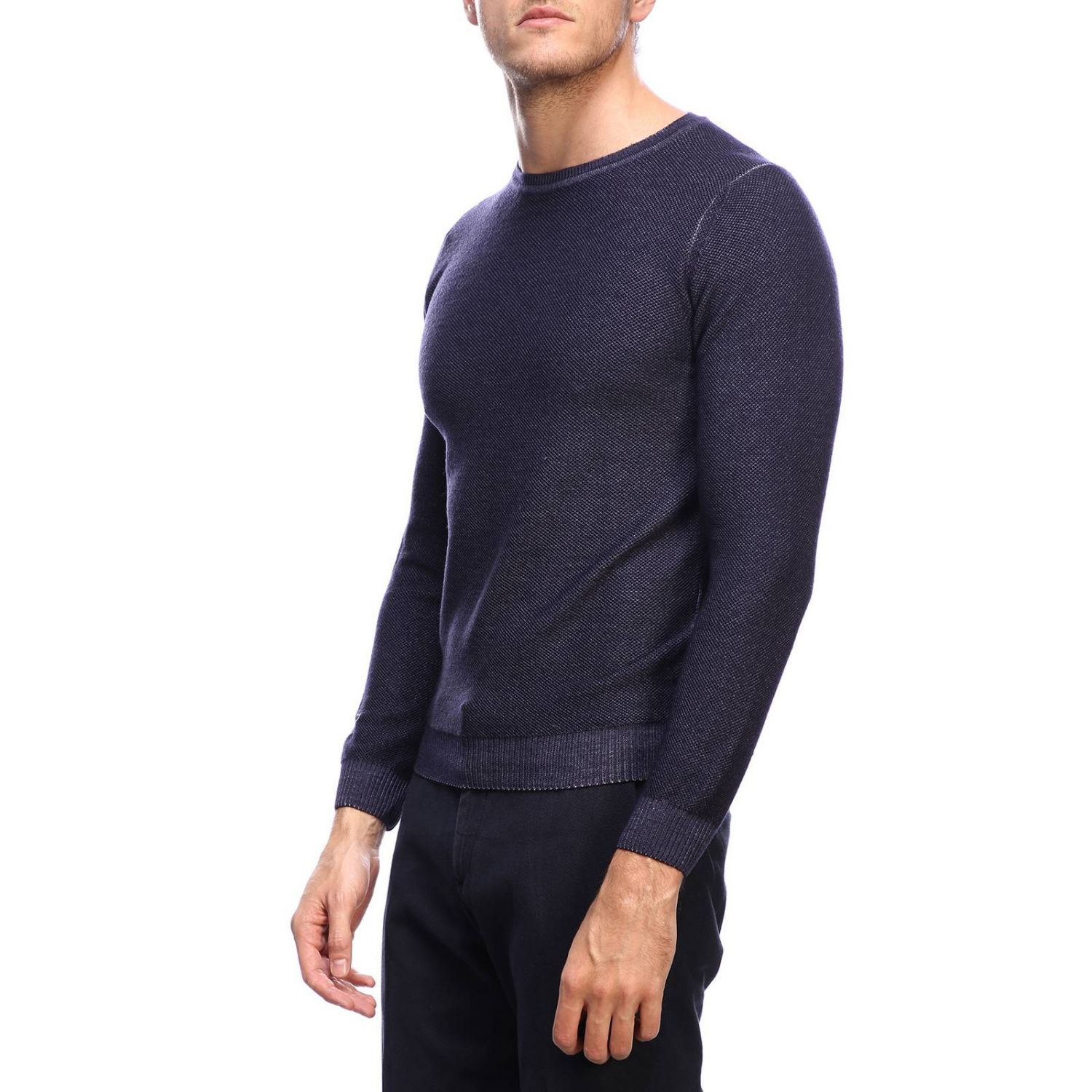 Jumper men Osvaldo Bruni blue 2
