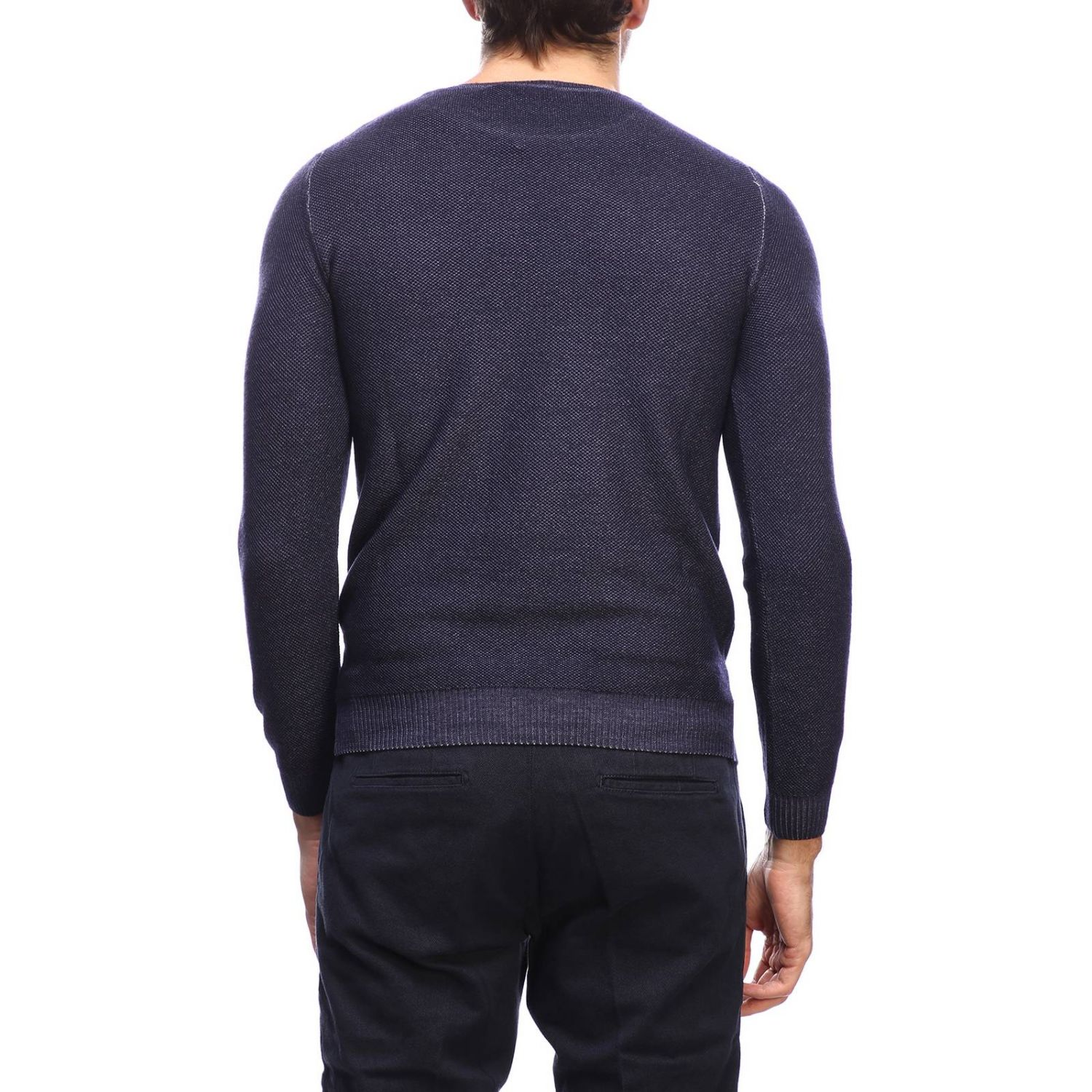 Jumper men Osvaldo Bruni blue 3