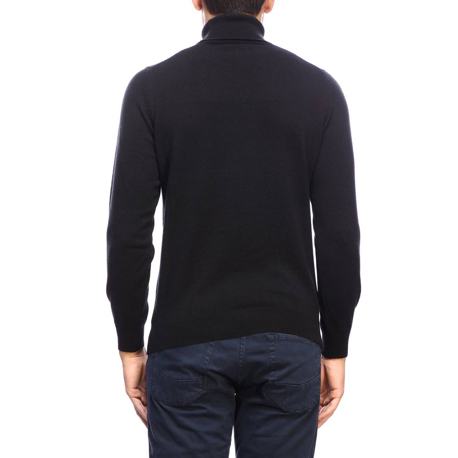 Sweater men Osvaldo Bruni black 3