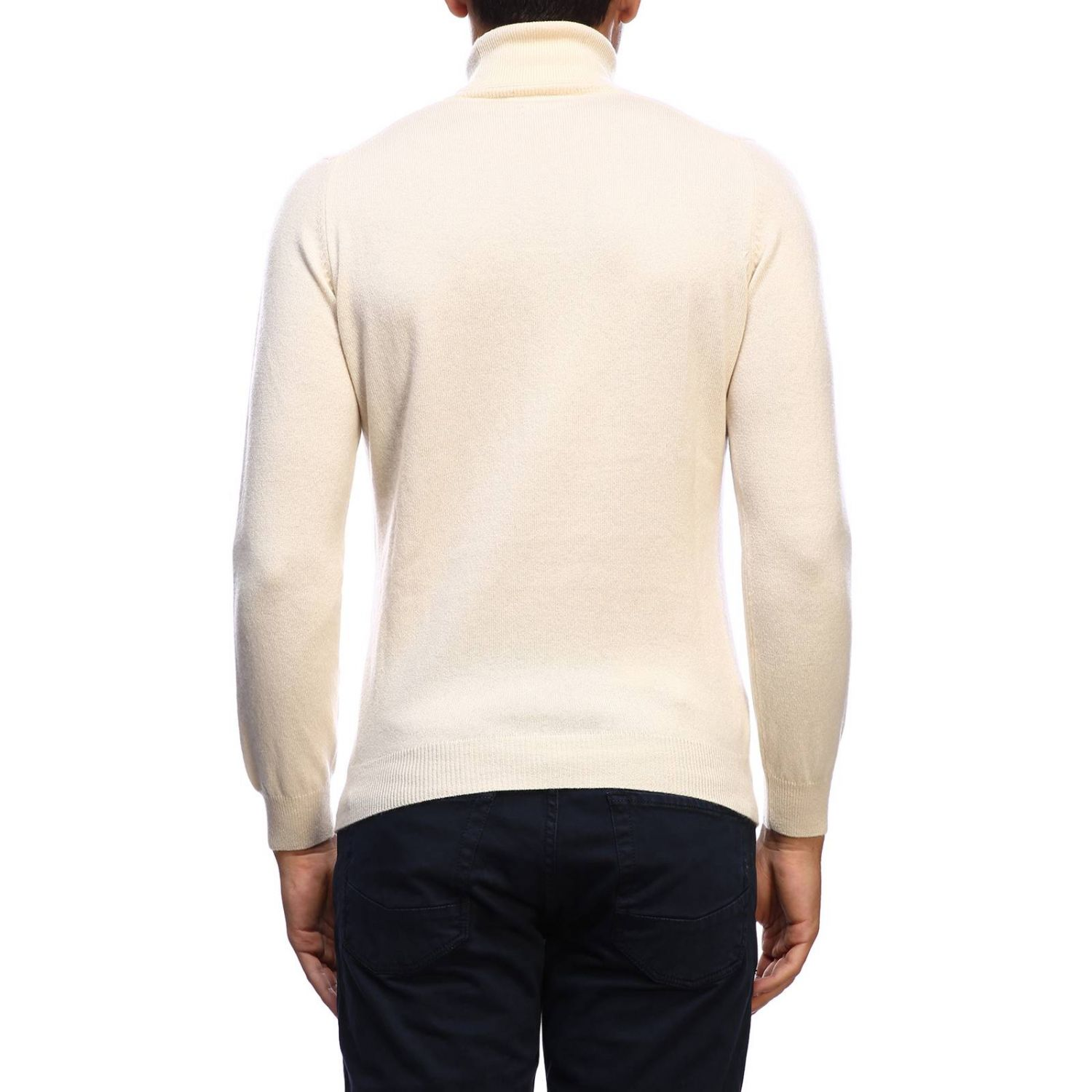 Pullover herren Osvaldo Bruni yellow cream 3