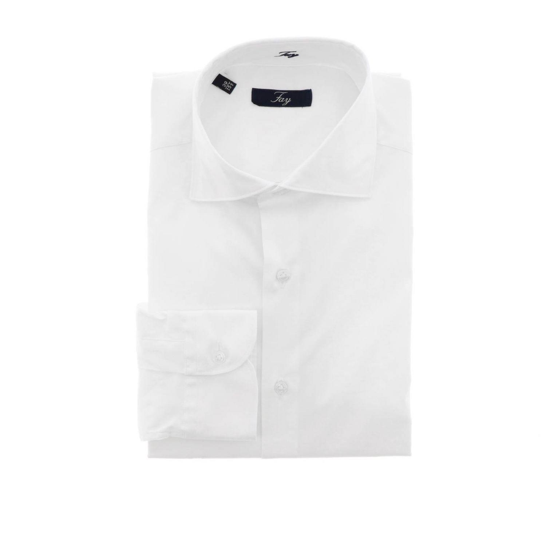 衬衫 男士 Fay 白色 1