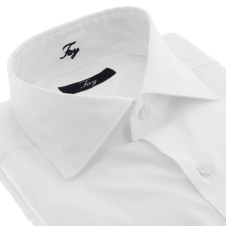 衬衫 男士 Fay 白色 2