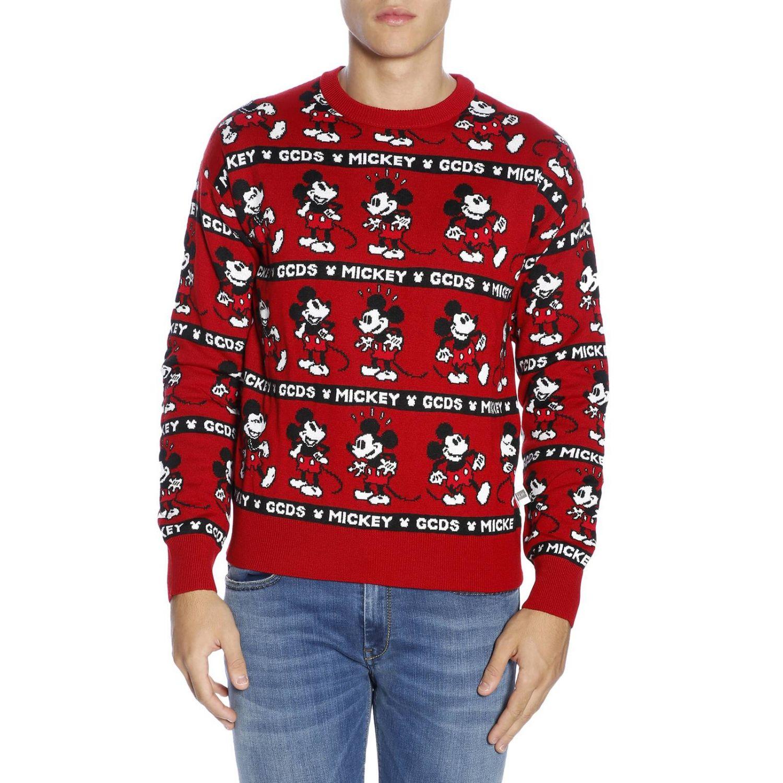 Pullover herren Gcds rot 1