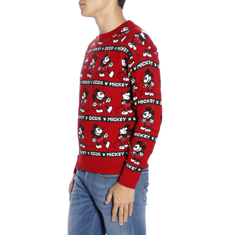 Pullover herren Gcds rot 2