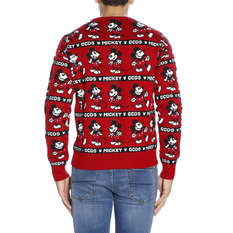 Pullover herren Gcds rot 3
