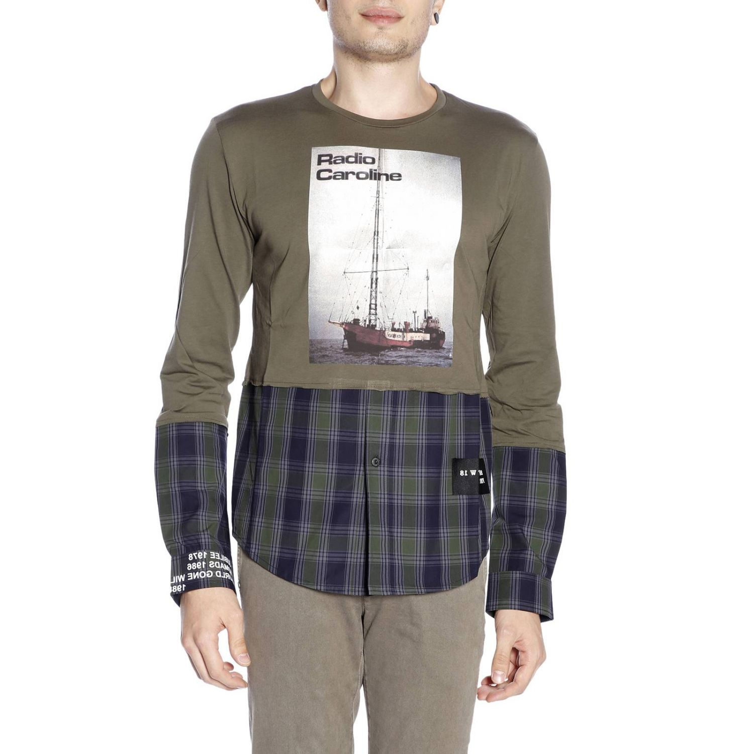 T-shirt men Sold Out military 1