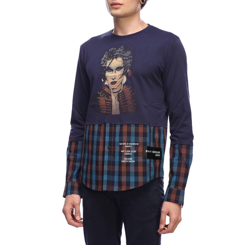 T-shirt homme Sold Out bleu 2
