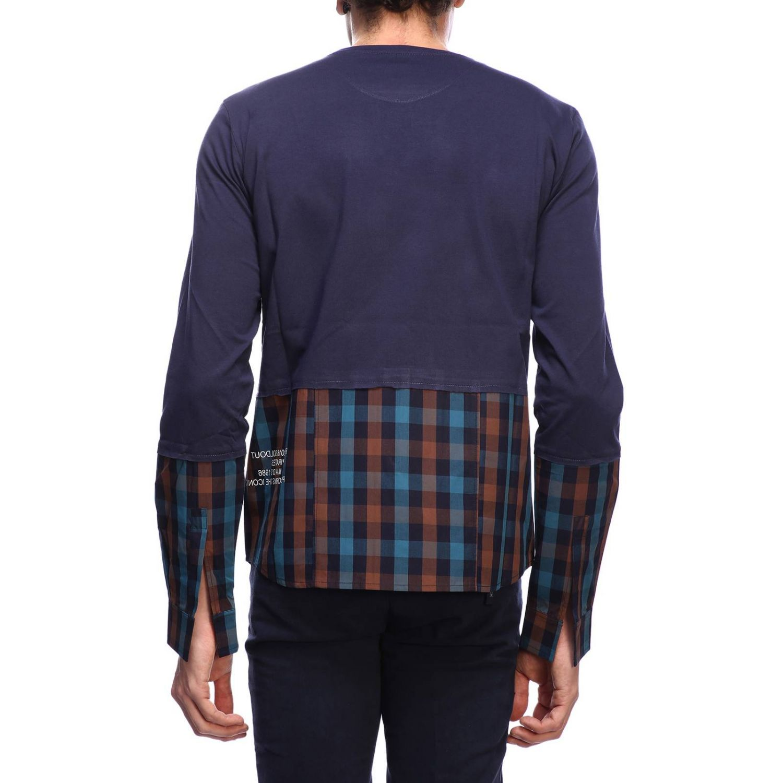 T-shirt homme Sold Out bleu 3