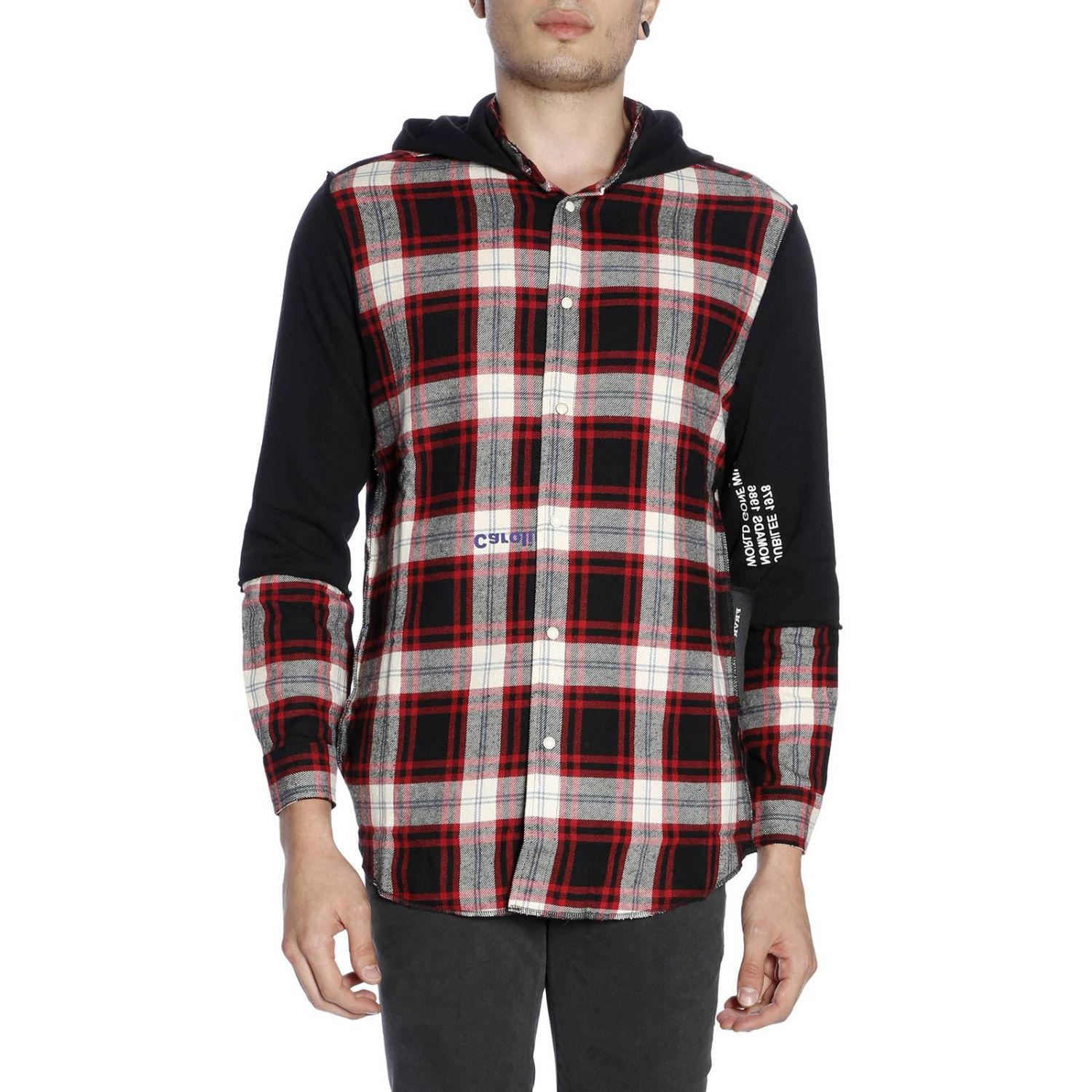 Pull homme Sold Out rouge 1