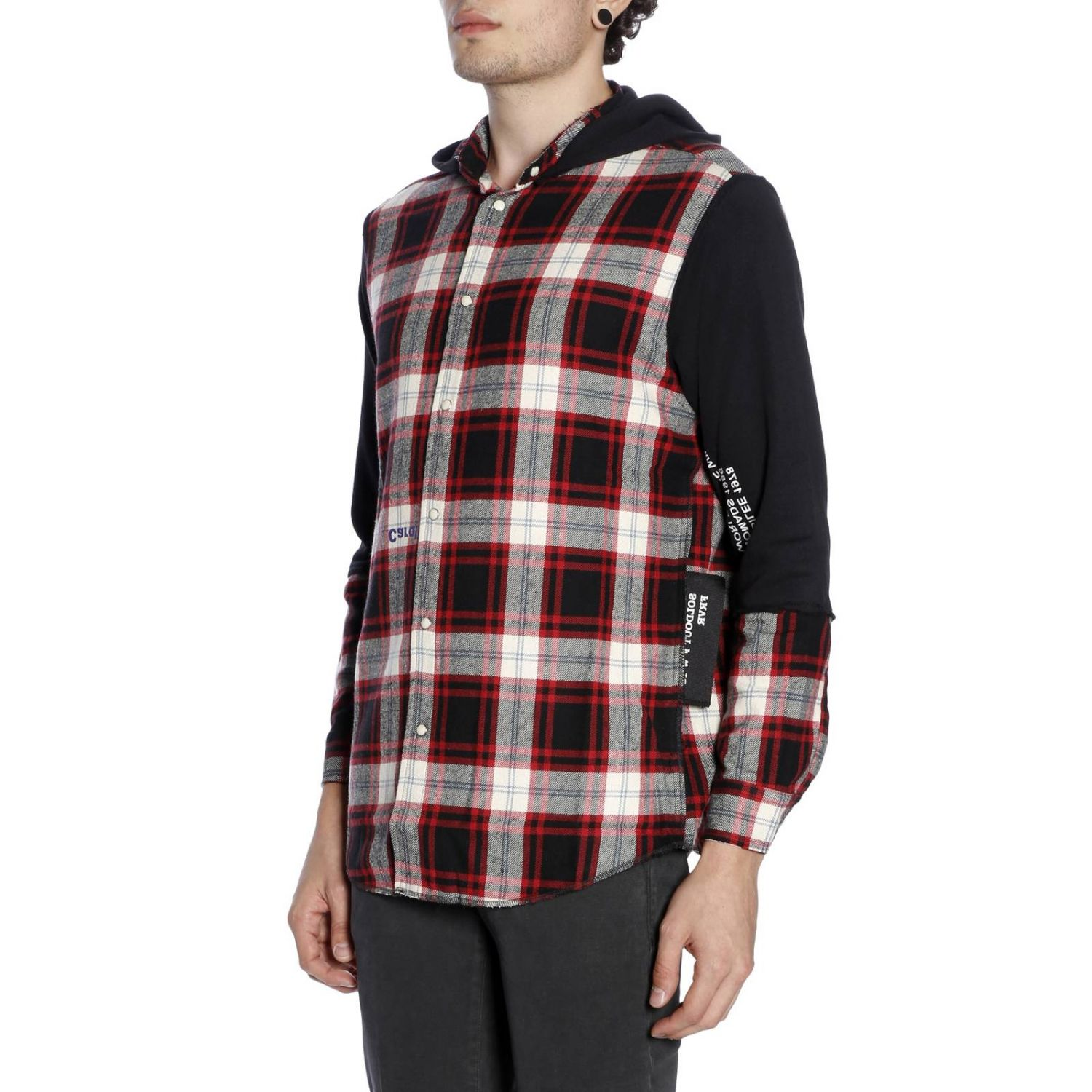 Pull homme Sold Out rouge 2