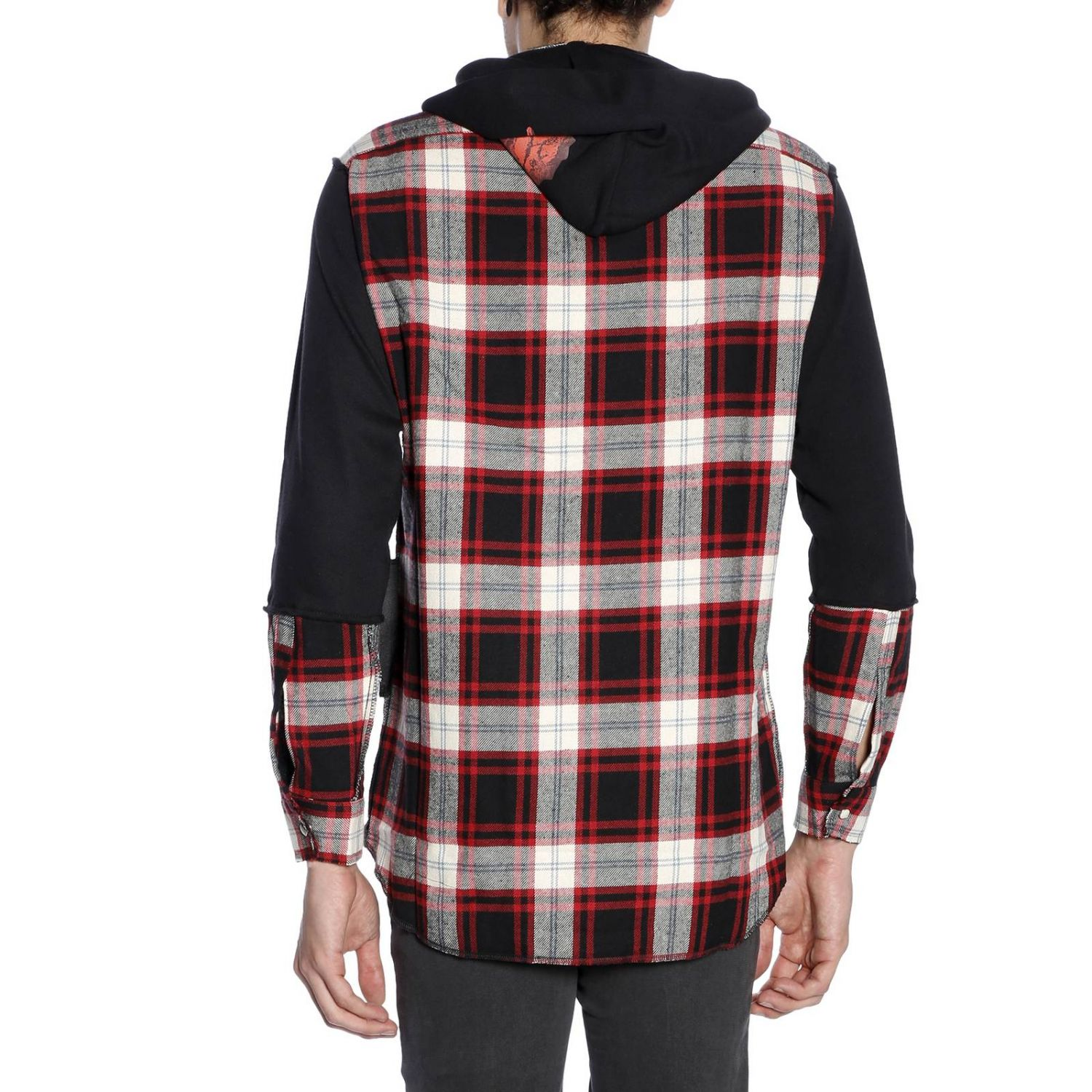 Pull homme Sold Out rouge 3