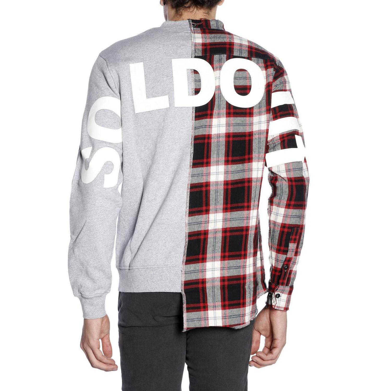 Sweater men Sold Out red 3