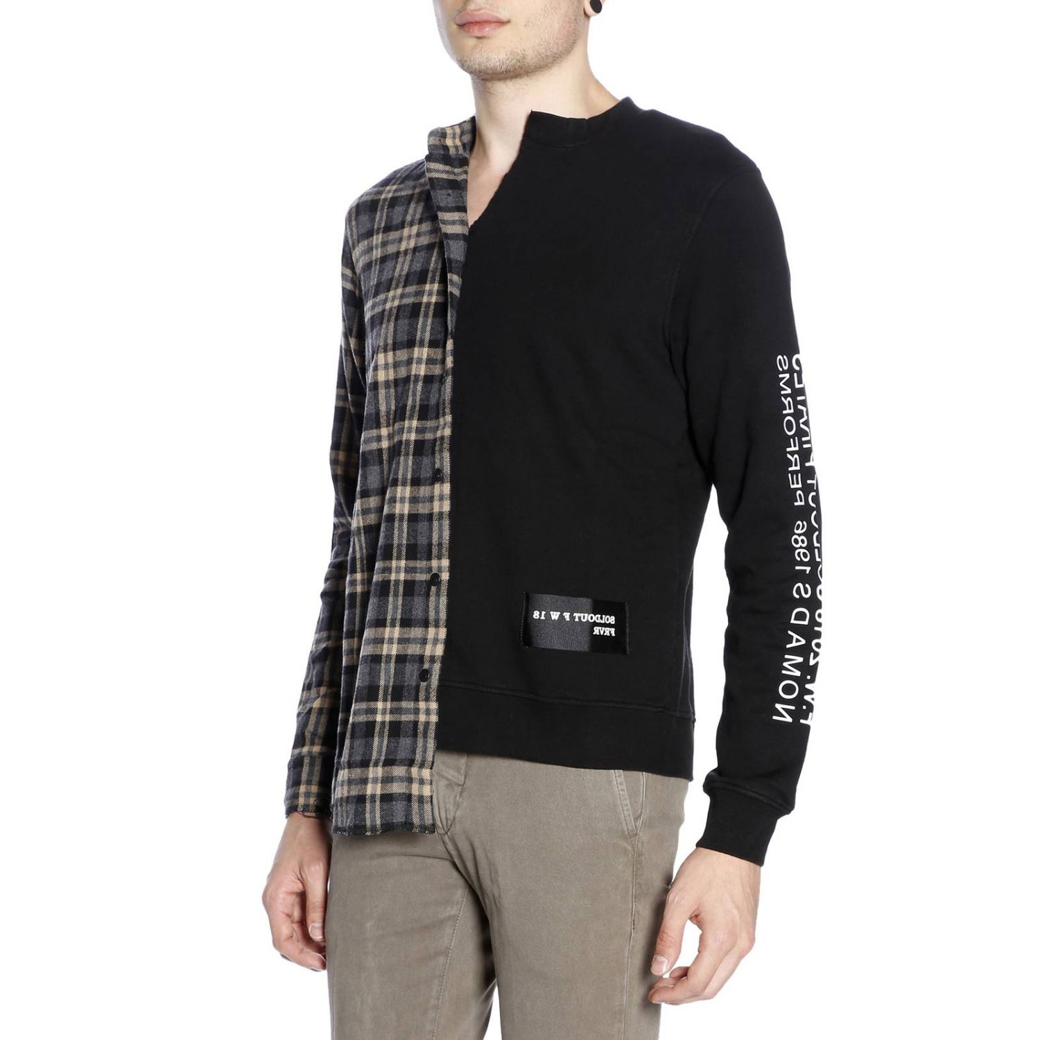Pullover herren Sold Out schwarz 2