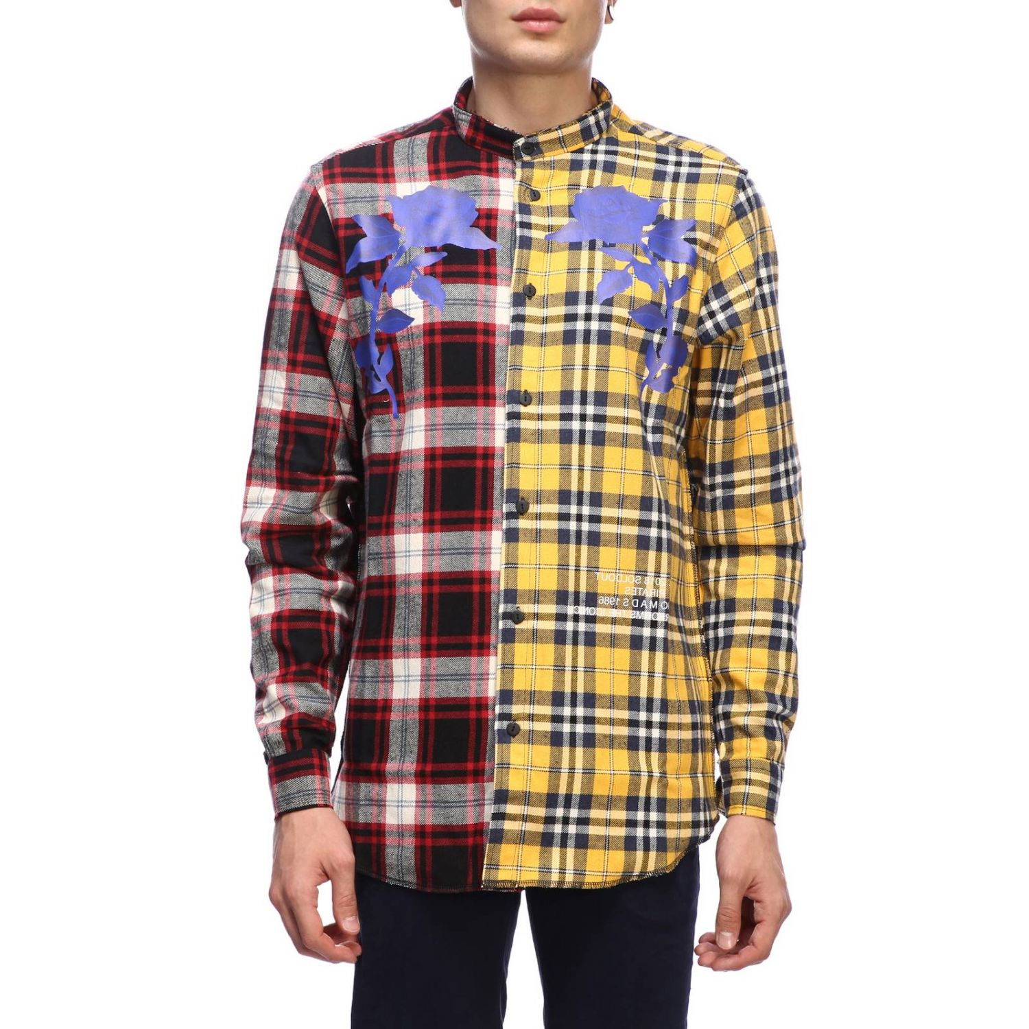 Shirt men Sold Out yellow 1