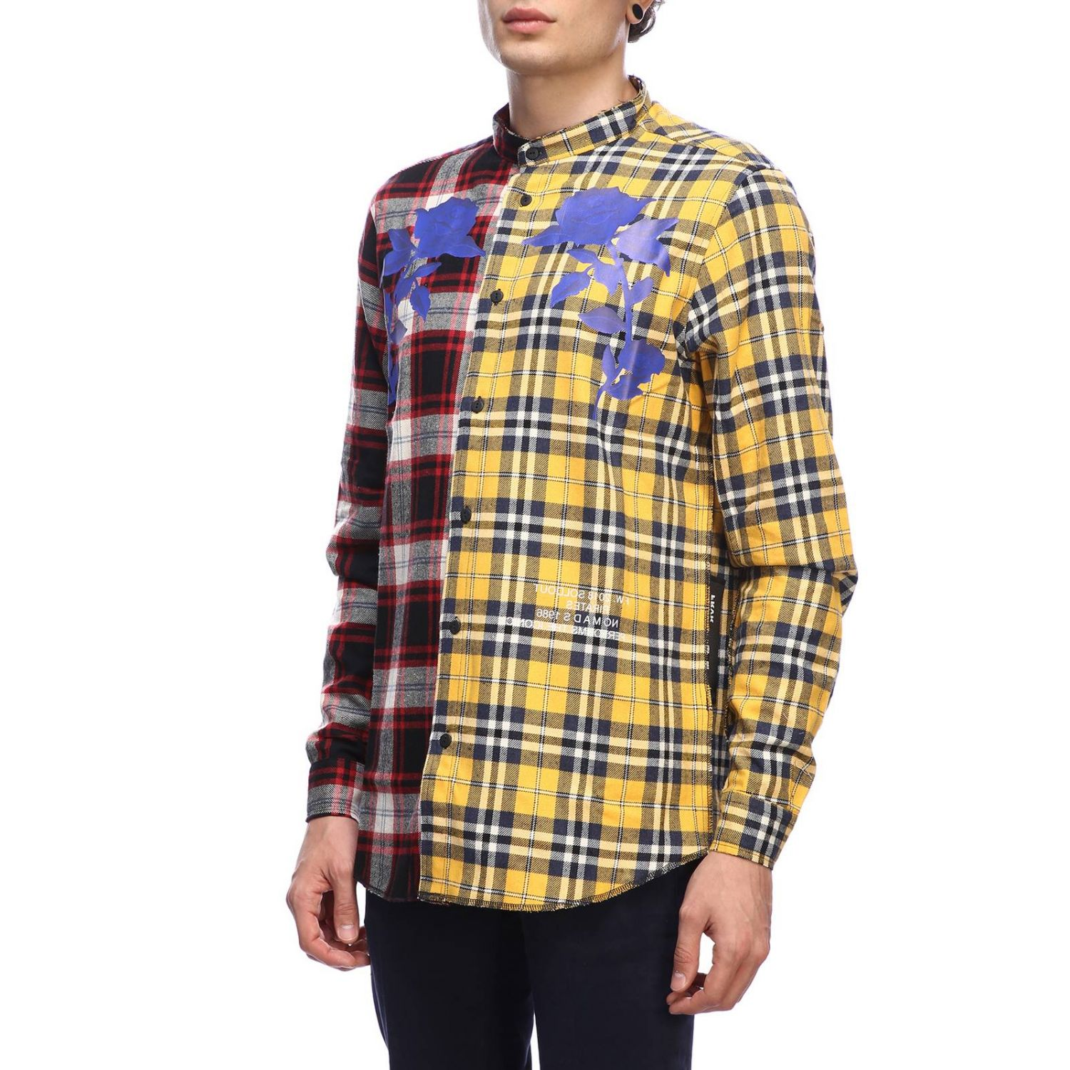 Shirt men Sold Out yellow 2