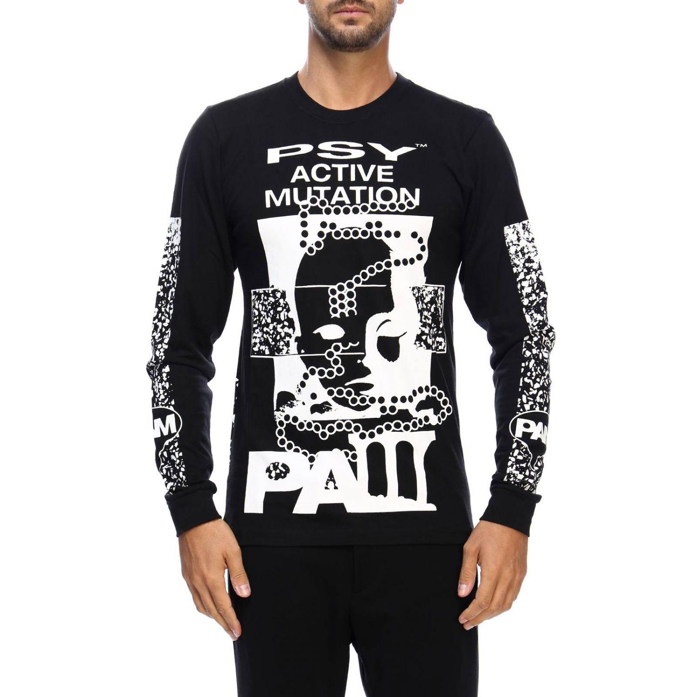 T-shirt men P.a.m. black 1