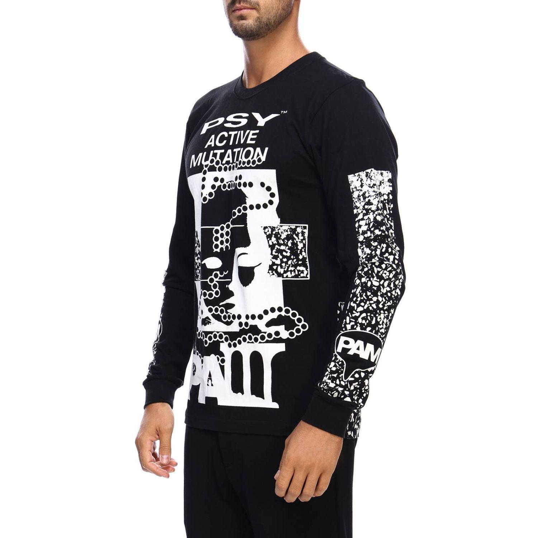 T-shirt men P.a.m. black 2