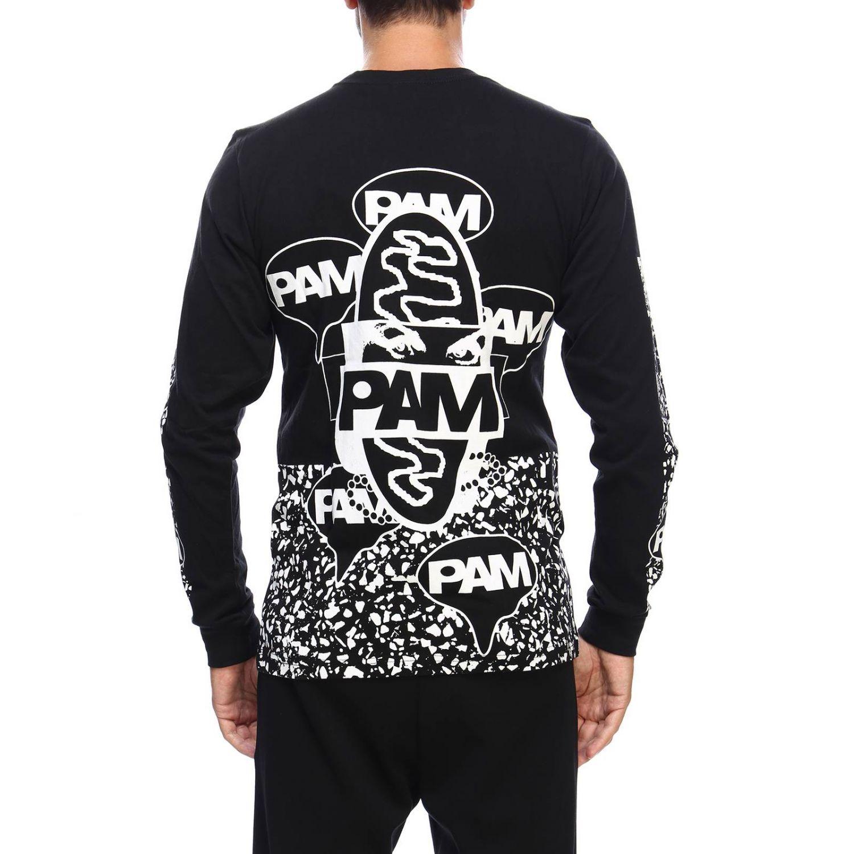 T-shirt men P.a.m. black 3