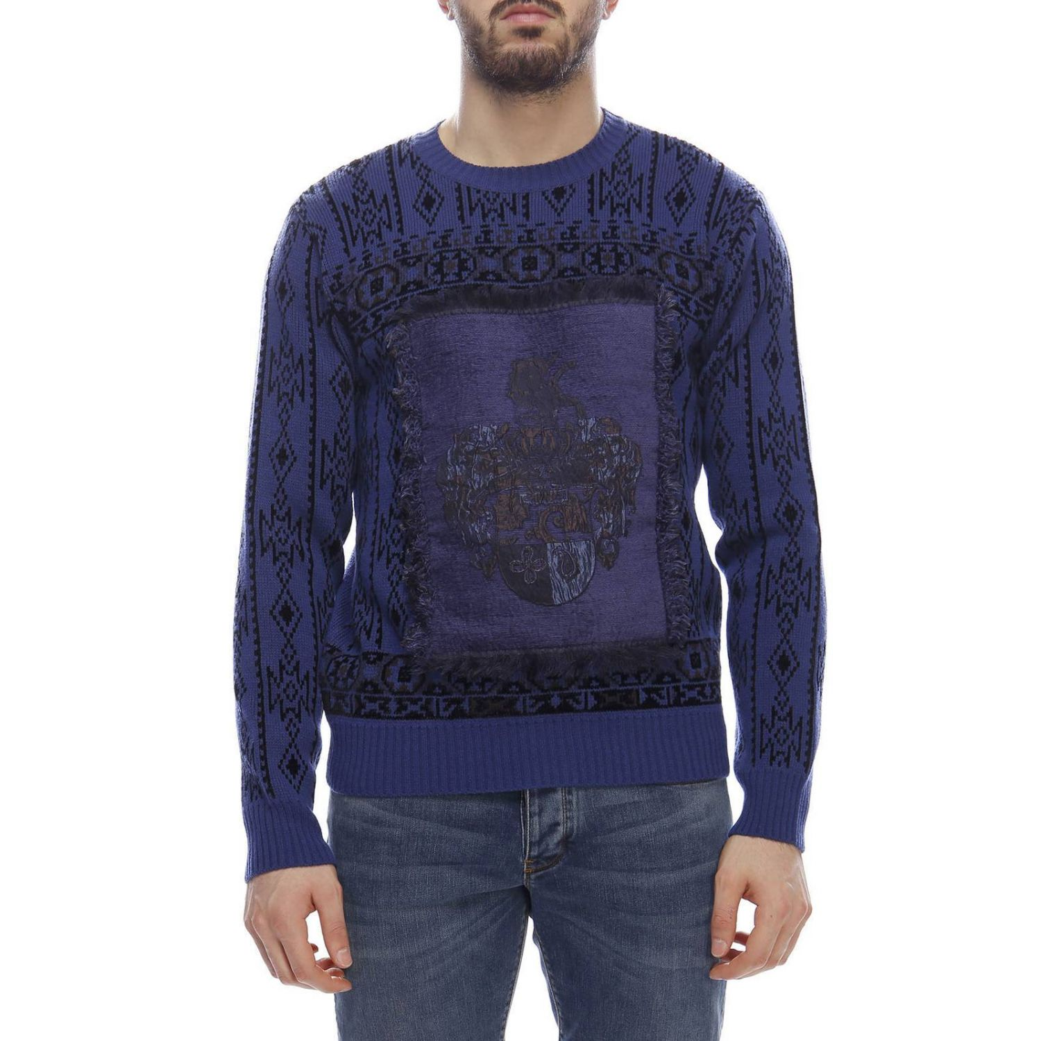 Sweater men Etro blue 1