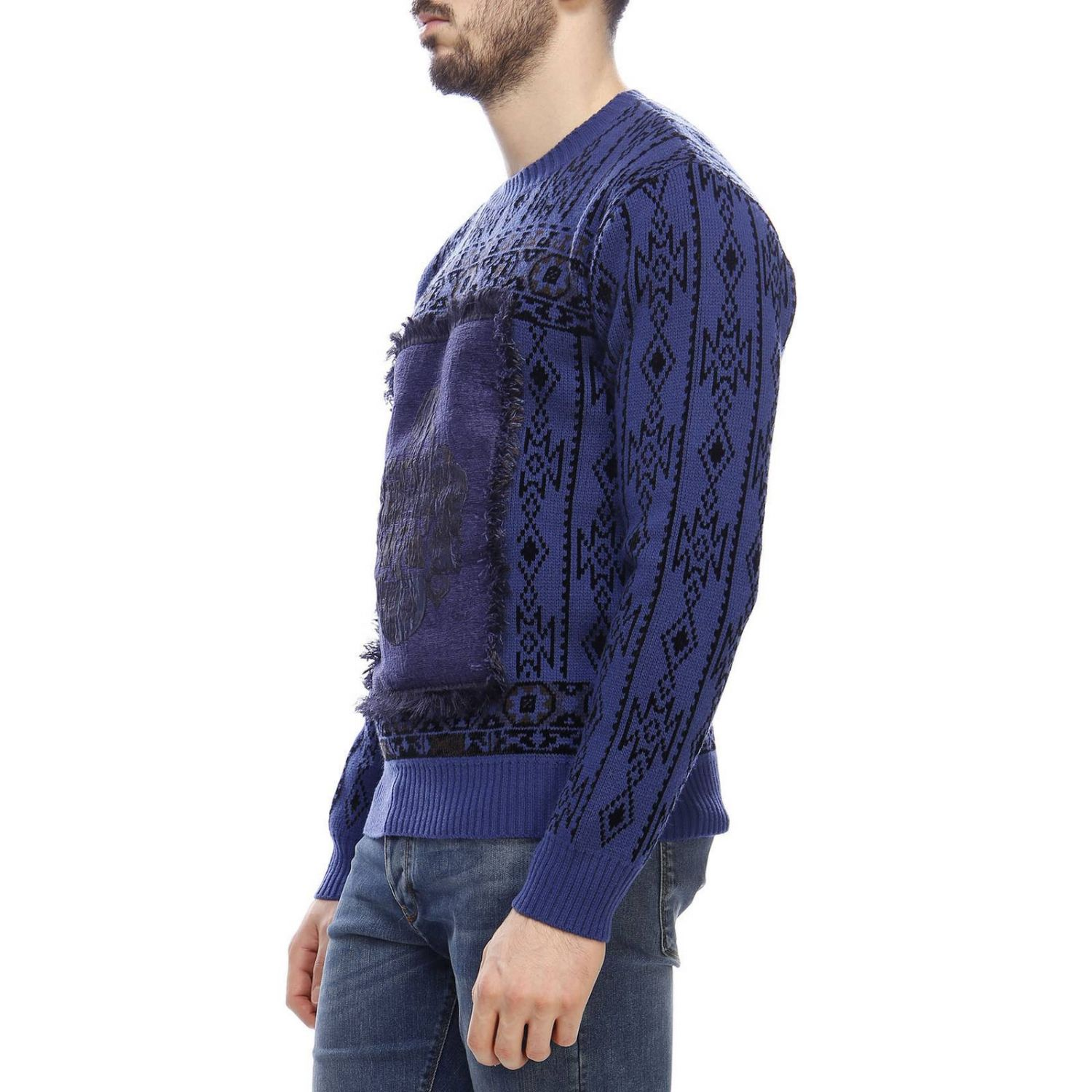Sweater men Etro blue 2