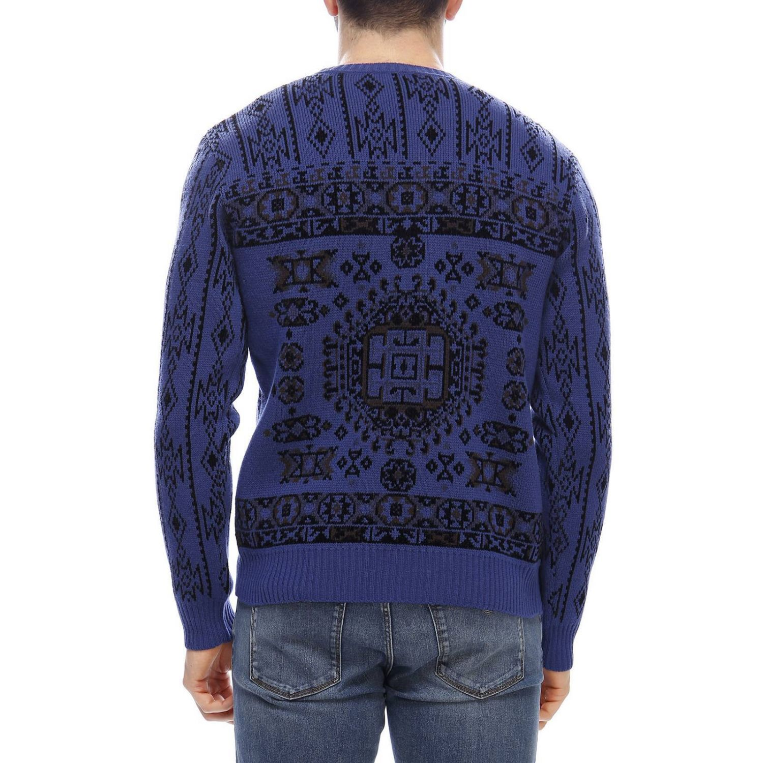 Sweater men Etro blue 3