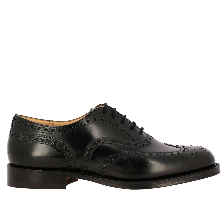 Schnürschuhe Church's: Schuhe herren Church's schwarz 1