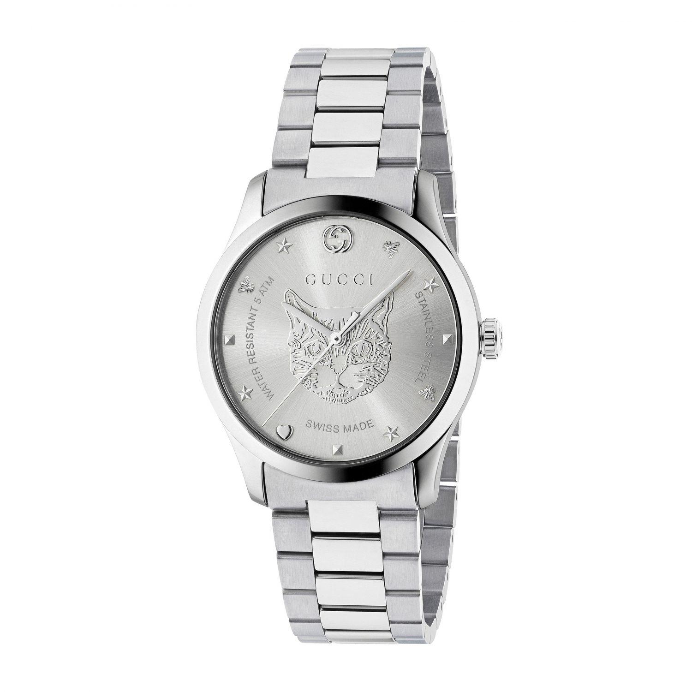 Watch women Gucci silver 1