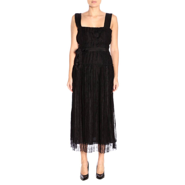 Robes Bottega Veneta: Robes femme Bottega Veneta noir 1
