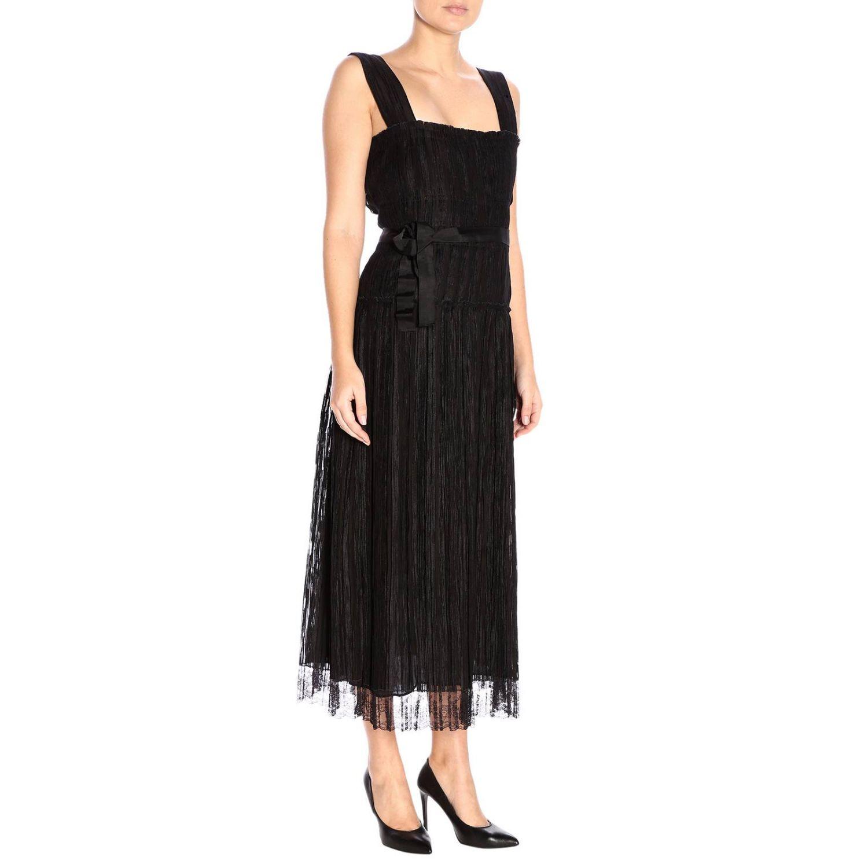 Robes Bottega Veneta: Robes femme Bottega Veneta noir 2