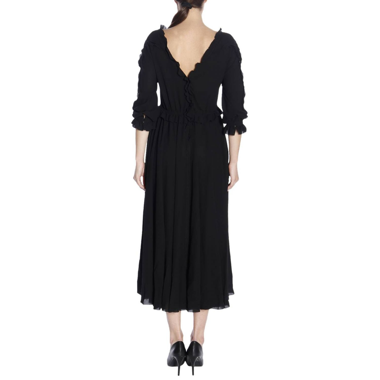 Dress women Bottega Veneta black 3