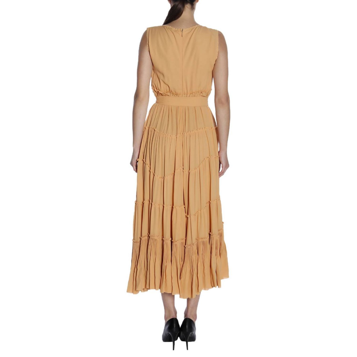 Dress Bottega Veneta: Dress women Bottega Veneta peach 3