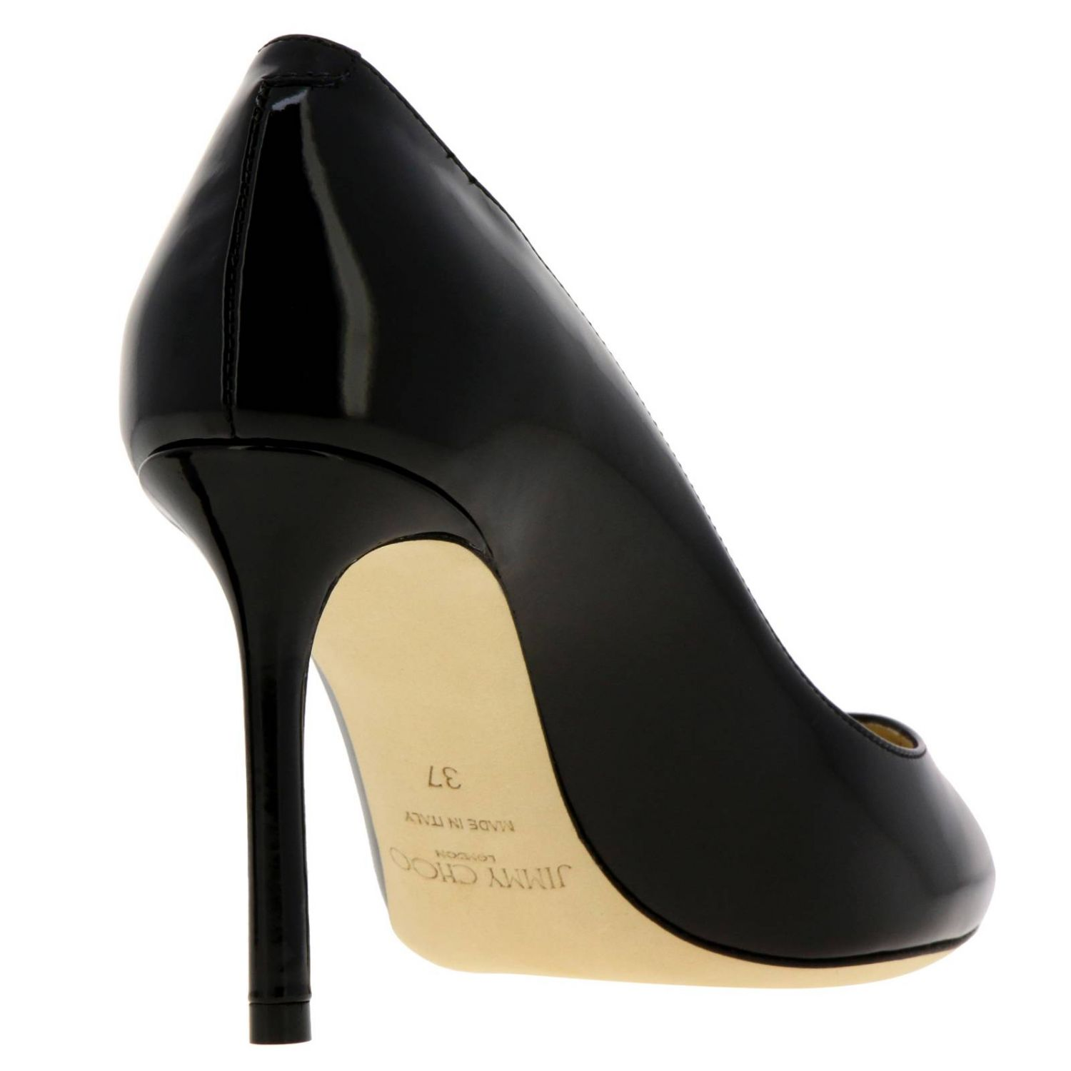 Décolleté Romy Jimmy Choo a punta in vernice nero 4