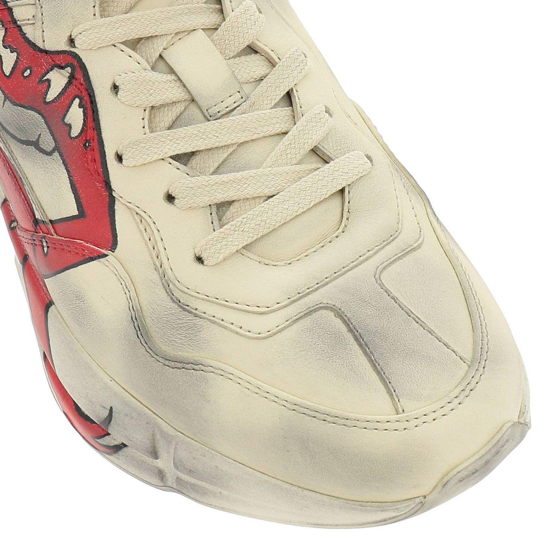 Schuhe damen Gucci weiß 3