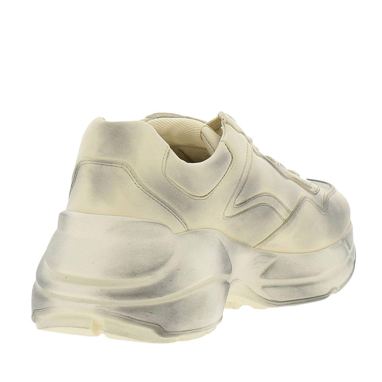 Schuhe damen Gucci weiß 4